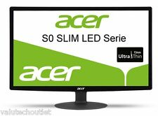 Acer S220HQLBrbd 21.5 HD LCD Monitor VGA, DVI 1920x1080 100000000:1 5ms 200cd/m2