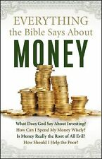 NEW! Everything the Bible Says about Money by Lin Johnson Paperback Book