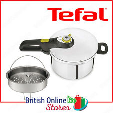 Tefal Pressure Cooker 6L Stainless Steel Induction Compatible Steam Basket