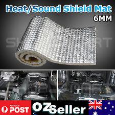 1M x 1M Car Bonnet Hood Firewall Heat Shield Sound Deadener Noise Insulation 6MM