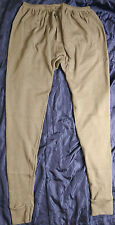 BRITISH ARMY AFV LONG JOHNS LARGE NEW fire resistant army fthermals drawers