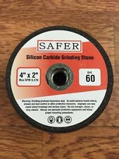 "Silicon Carbide Stone Grinding Cup 4"" x 60 grit"