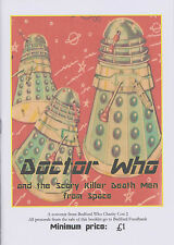 Fanzine: Dr Doctor Who and the Scary Killer Death Men from Space. V funny, new!