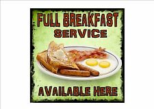 American Vintage Style Diner Sign Cafe Sign Breakfast Retro Style  Kitchen Sign