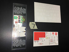 Transformers Master Piece MP G1 some Unused Sticker Sheets LOT # 7 prowl 17 04