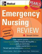 Emergency Nursing Review : Concise - Rapid - Effective by Scott H. Plantz 2nd ed