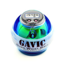 GAVIC Power LED Gyro Wrist Ball with Speed Meter in Blue - AU