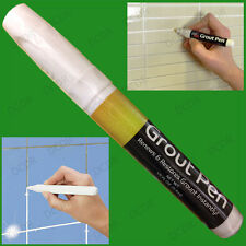 White Grout Pen Tile Reviver Repair Renew Restore Kitchen Bath Shower AntiMould