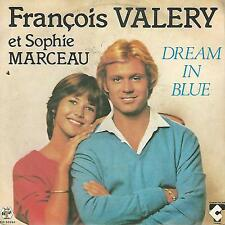 "FRANCOIS VALERY "" DREAM IN BLUE / LE COEUR JUKE BOX"" 7"" BABY RECORDS ITALY"