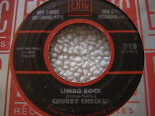 "CHUBBY CHECKER ""LIMBO ROCK"" / ""PONY TIME"" 7"" 45"