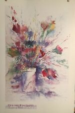 FINE ART LITHOGRAPH: Spring Bouquet By Tiffany Kerr 36 X 24