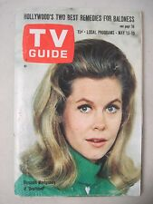 TV GUIDE MAY 13, 1967 ELIZABETH MONTGOMERY COVER BEWITCHED