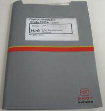 Werkstatthandbuch Seat Toledo Leon 6 Zylinder Einspritzmotor Motor Mechanik 1999