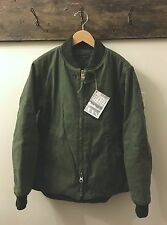 Engineered Garments Clicker Jacket in Olive Bull Denim Size Small NWT