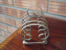 Antique Silver Plated Toast Rack ~ G.L   E.P.N.S