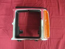 NOS OEM Dodge Dakota Headlamp Chrome Door Bezel & Side Marker 1989 - 1990 Left