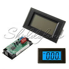 2-Wire 3 1/2 Blue LCD AC 80-500V Digital Volt Panel Meter Voltage Power Supply