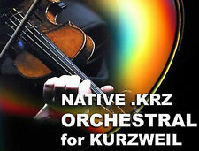 Kurzweil orchestral cordes laiton patches sons cd pour pc3k8 pc3k7 PC3K6 PC3k
