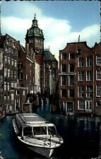 AMSTERDAM Holland 1956 Kleines Boot Gracht Motiv Schiff 5 Cent Briefmarke