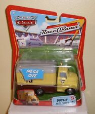 Disney Pixar World of Cars Dustin Mellows # 7 Mega Size Race O Rama