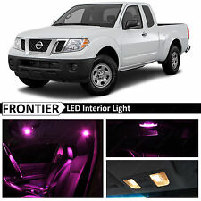 7x Pink Interior LED Lights Package for 2005-2016 Frontier