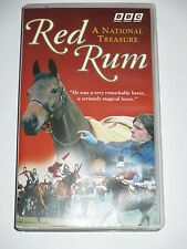 RED RUM Rare BBC VHS Video Documentary Aintree Horse Racing Grand National PAL