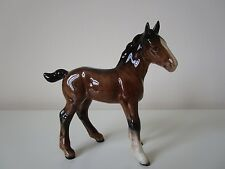 Beswick Large Shire Foal Brown Gloss 951 Lovely Condition. Vintage.