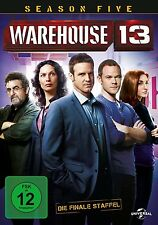 WAREHOUSE 13-SEASON 5 /JOANNE KELLY/EDDIE MCCLINTOCK/SAUL RUBINEK/+ 2 DVD NEU