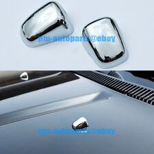 PM Chrome Windshield Washer Wiper Nozzle Cover Trim for Jeep Grand Cherokee 2014