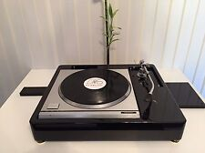 "TECHNICS SP10 TWIN TONEARM 9"" 12"" VERSION Piano Black Plinth Zarge"