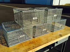 Vintage Gym Swim Locker Baskets, Industrial Storage, Excellent Condition
