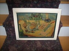 Vintage Vincent Van Gogh Still Life from New York Graphic Society 4320