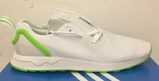 ADIDAS Originals ZX Flux ADV Asym Bianco/Verde aq3166 Trainer Taglia UK 10.5