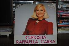 RAFFAELLA CARRA' CURIOSITA' MINI  LP 33 GIRI