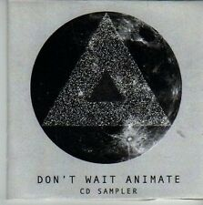 (CW39) Don't Wait Animate, sampler - DJ CD