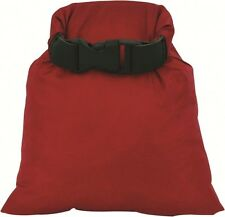 HIGHLANDER DB108 LIGHTWEIGHT WATERPROOF ROLL TOP DRY BAG SACK POUCH RED 1L