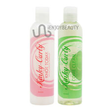 Kinky Curly Come Clean Shampoo & Knot Today Leave-in Detagler 8oz /RollOnBodyOil
