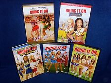 Bring It On•Again•All or Nothing•In It to Win It•Fight to the Finish•5 DVD Set!