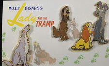 Disney DisneyShopping.com - Vintage 3-Pc. Lady & the Tramp Pin Set LE 300