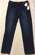 DG2 Diane Gilman Women's Jeans, Dark Denim, Size 10