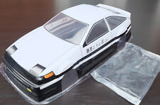 Initial D AE86 Trueno 1/10 RC Body Shell with Decal 200mm Tamiya HPI HSP