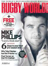 RUGBY WORLD MAGAZINE August 2011 Chris Wyles Saracens Morgan Stoddart Scarlets