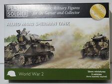 Plastic Soldier Company (PSC) 15mm USA M4A2 Sherman tanks, suit Flames of War