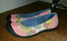 "Keen ""Landcaster"" Ballerina Flats Slip On Shoes Sz 38 US 8.5 Good Condition"