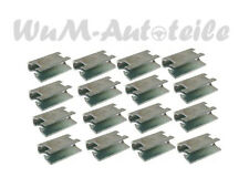 16 x Klammer für Türfensterrahmen Fiat 500 126 600 850 set clip for door frame