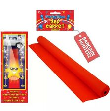 VIP RED CARPET RUNNER 15ft x 2ft WEDDINGS BIRTHDAY PARTY HOLLYWOOD EVENT PROP UK