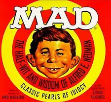 MAD MAGAZINE - The Half-Wit and Wisdom of Alfred E. Neuman