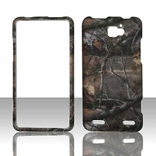 CAMO TREE HARD RUBBERIZED PROTECTOR PHONE CASE COVER ZTE Paragon Z753G NET10