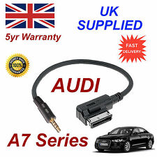 AUDI A7 Series AMI MMI 4F0051510F Music Interface 3.5mm Jack input Cable