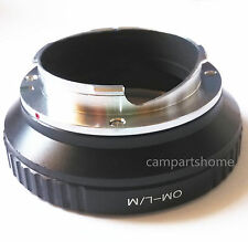 Olympus OM Lens To Leica M LM Adapter M5 M6 M7 M8 M9 MP M9-P Ricoh GXR-M